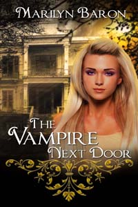 The Vampire Next Door by Marilyn Baron @MarilynBaron #RLFblog #romance #comedy