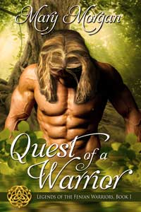 Quest of a Warrior by Mary Morgan @m_morganauthor #RLFblog #Paranormal #Romance