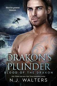 Meet Ezra Easton from Drakon's Plunder by NJ Walters @njwaltersauthor #RLFblog #PNR