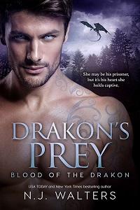 Drakon's Prey by NJ Walters @njwaltersauthor #RLFblog #PNR